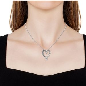 Unknown Jewelry - Heart Pendant Necklace